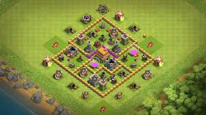 Clash Of Clans Th6 Base Design Coc Town Hall 6 Hybrid Base Design
