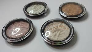 review swatches makeup revolution strobe highlighters samantha shead