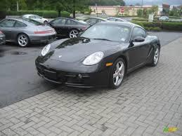2007 Basalt Black Metallic Porsche Cayman S #17903054 | GTCarLot ...