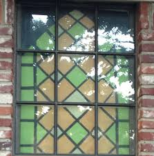 stained glass window panels project