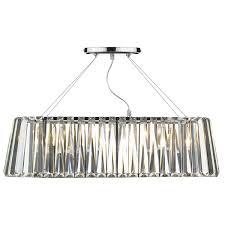 cecilia 3 lighting g9 oval linear pendant bar