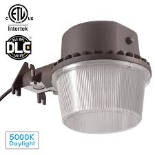 dusk to dawn led outdoor barn light photocell included 35w