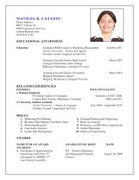 how do i create a resume. How I Make A Resume Barcelonajerseysnet