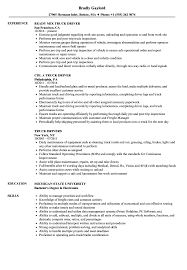 Trucking Resume Sample Truck Resume Samples Velvet Jobs 10