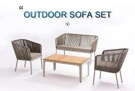 outdoor garden furniture sofa set