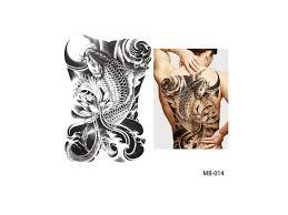 Dočasné Tetování Na Záda Mb 014