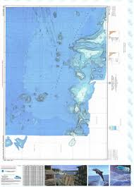 Ocean Depth Chart Bathymetric Nautical Chart 16524 10b North Pacific Ocean