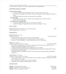 One Page Resume Sample This Is One Page Resumes Two Page Resume