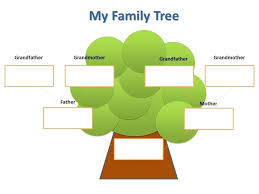 Family Tree Templates Kids Tree Template For Kids Hetero Co