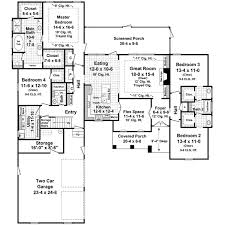 2500 sq ft house plans 2 story traditional house plan 4 bedrooms 3 bath