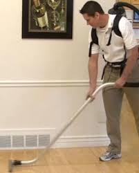 Vacuum The Wood Floor First