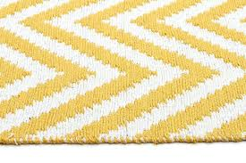 yellow chevron rug mustard cotton jute
