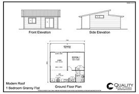 Elegant 1 Bedroom Bungalow House Plans