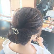 ショートロングまで 落ち着きのある髪型でシンプルなスタイルに