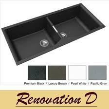 granite drop in sink. Simple Sink Zum Granite Kitchen Sink  Drop In Or Under Mount Double Bowl 1140 X 500   Inside N