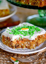 Carrot Cake Bars With Cream Cheese Frosting Mom On Timeout