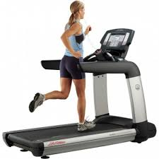 treadmill aesthetically the life fitness 95t inspire appears glistening polished and advanced through a sleek