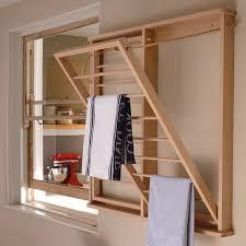 the beadboard drying rack wall
