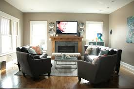 Living Room Furniture Arrangement With Fireplace Living Room Furniture Arrangement Homesfeed