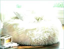 white fur bean bag furry bean bag furry bean bag chair fuzzy bean bag chair deeply