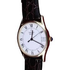 pre owned concord 14k gold round face quartz mens watch polyvore pre owned concord 14k gold round face quartz mens watch