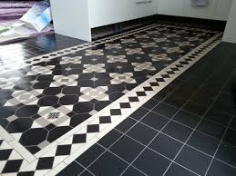 Black And White Flooring Design Centre Room Ideas