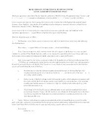 Office Rental Agreement Template Office Rental Agreement Template Sublease New Luxury