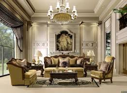 Wide Chairs Living Room Modern Wide Interior Living Room Design With White Formal Chairs