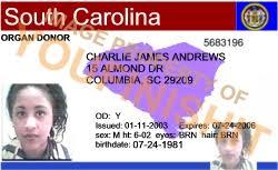 Id Od South Card Carolina