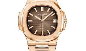 Hushhush Full Philippe com 40mm Rose Gold Brown Nautilus Patek Dial