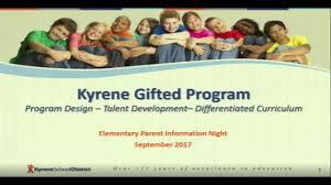 kyrene gifted programs elementary