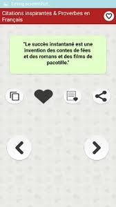 Citations Inspirantes Proverbes En Français For Android Apk Download