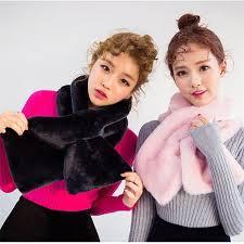 <b>Autumn Winter New</b> Style Cashmere Scarf <b>Elegant</b> Women Solid ...