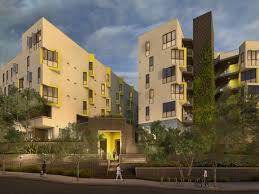 the mosaic gardens at westlake located at 111 s lucas avenue in the los angeles westlake neighborhood is an all new affordable intergenerational apartment