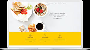 One Page Menu Template Free Veggie One Page Free Html5 Restaurant Template Themefisher