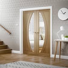 oak rno glazed french doors