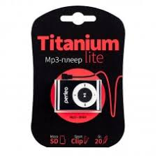 <b>Perfeo</b> цифровой MP3 аудио <b>плеер</b> «<b>Titanium Lite</b>» черный ...