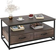 42 coffee table with storage picture