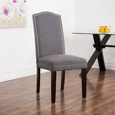 ksp tiffany fabric dining chair grey