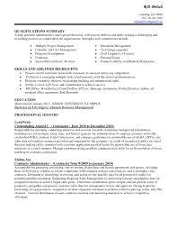 Management Skills List For Resume 10 List Of Skills For Resume Examples Proposal Sample