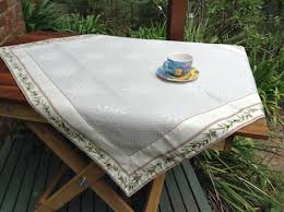 quilted tablecloth ideal for bridge card tables