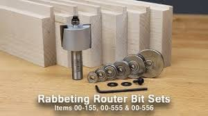 infinity tools. get professional results with value-packed rabbeting router bit setsinfinity cutting tools - sets infinity