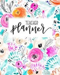 Teacher Organizer Planner Teacher Planner 2019 2020 Weekly Monthly View Organizer