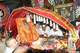 Image result for images of Shirdi Sai Baba devotees going to shirdi palki yatra
