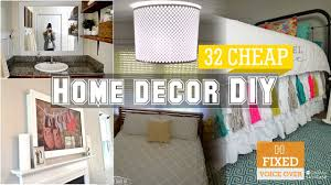 Small Picture 32 Cheap home decor DIY ideas New VO YouTube