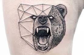 значение тату медведь свирепый и мудрый