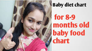 8 Months Baby Food Chart In Telugu Baby Food Chart For 8 To 9 Months Baby Stage 2 Food Chart