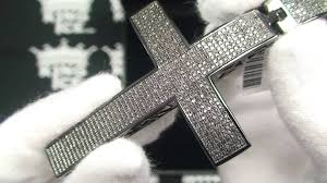 hip hop jewelry real diamond cross pendant kingice you inside real hip hop