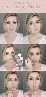 how to contour your nose to make it smaller wonder forest create explore