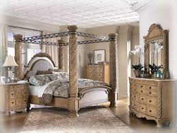 Old World Bedroom Furniture Old World 5 Pc Bedroom Set W King Poster Bed The Classy Home